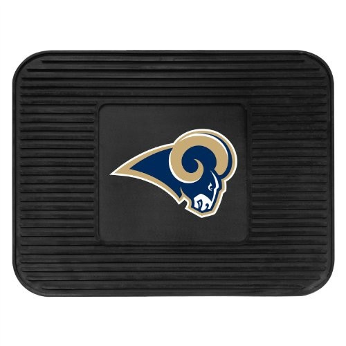FANMATS NFL Los Angeles Rams Vinyl Utility Mat [Rear]