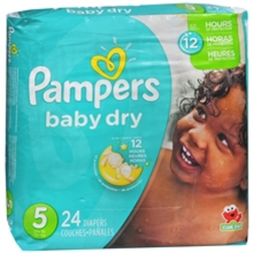 Pampers Baby Dry Diapers Size 5