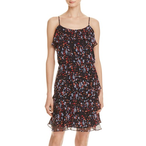 PARKER Macy Printed Silk Dress
