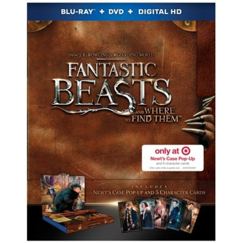 Fantastic Beasts and Where to Find Them - Target Exclusive (Blu-ray + DVD + Digital)