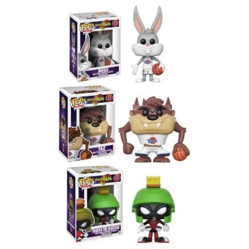 Funko POP! Movies Space Jam Collectors Set: Bugs, Taz, Marvin