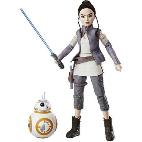 Star Wars Rey and BB8
