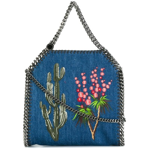 STELLA MCCARTNEY Falabella Embroidered Western Tote