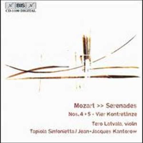 Mozart: Serenades Nos. 4 & 5 (Audio CD)