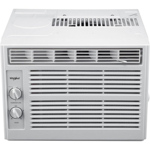 Whirlpool 5,000 BTU 115-Volt Window Air Conditioner with Dehumidifier and Mechanical Controls