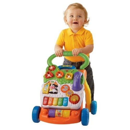 VTech Sit-to-Stand Learning Walker [Orange, Standard Packaging]