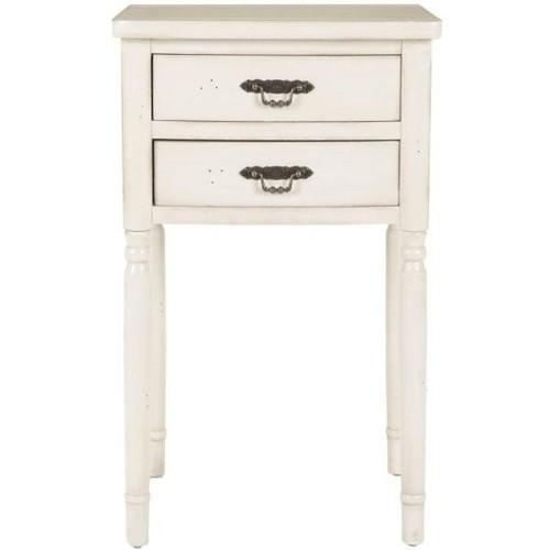 Safavieh Marilyn White End Table