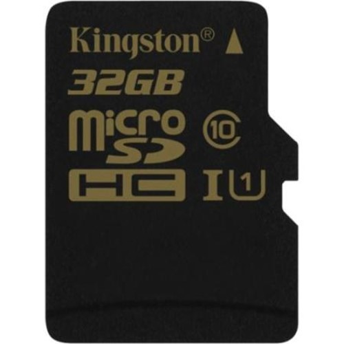 Kingston 32GB microSDHC Class 10/UHS-I Memory Card with SD Adapter