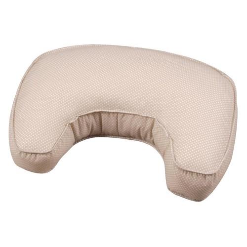 Leachco the Natural Basic Contoured Nursing Pillow - Sand Pin Dot