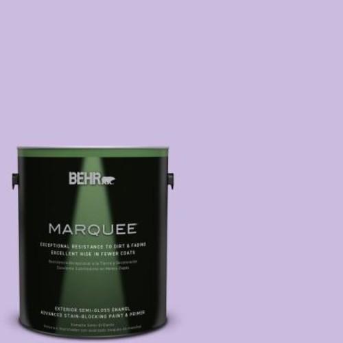 BEHR MARQUEE 1-gal. #P570-2 Confetti Semi-Gloss Enamel Exterior Paint