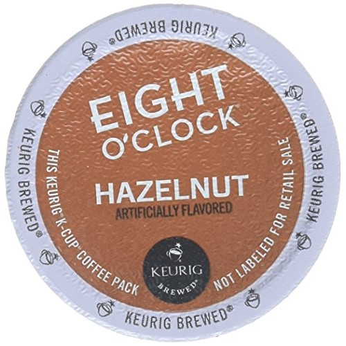 Eight O'Clock Hazelnut Coffee Keurig K-Cups, 18 Count