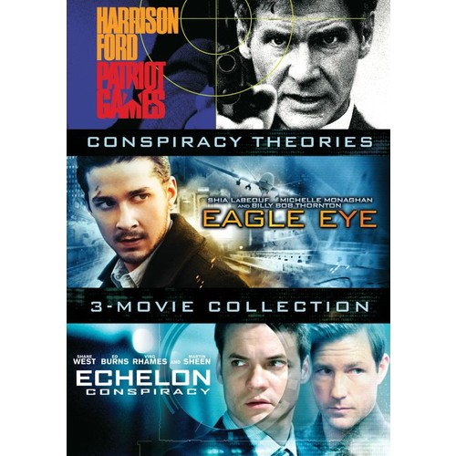 Conspiracy Theories: 3-Movie Collection [3 Discs] [DVD]