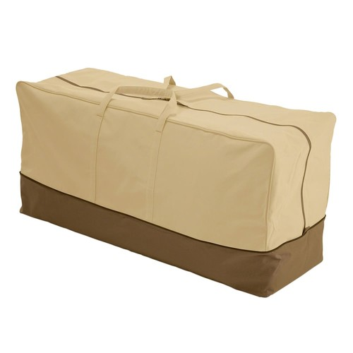 Classic Accessories 78982 Veranda Patio Cushion & Cover Storage Bag, Standard [Standard]