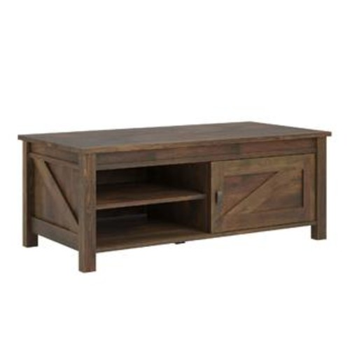 Ameriwood Home Farmington Century Barn Pine Coffee Table