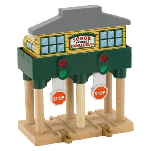 Fisher-Price Thomas & Friends Wooden Railway Deluxe Over-The-Track Signal