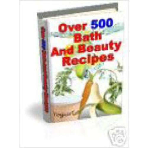 504 Bath & Beauty Recipes