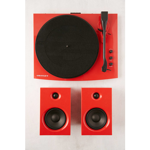 Crosley T100 Turntable With Speakers [REGULAR]