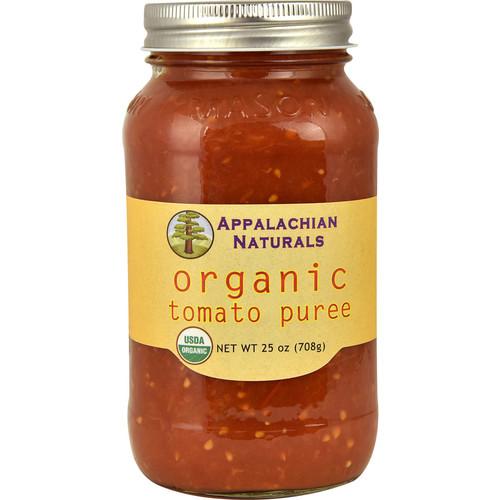 Appalachian Naturals Organic Tomato Puree -- 25 oz