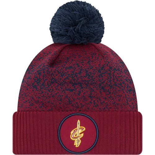 Era Youth Cleveland Cavaliers On-Court Knit Hat