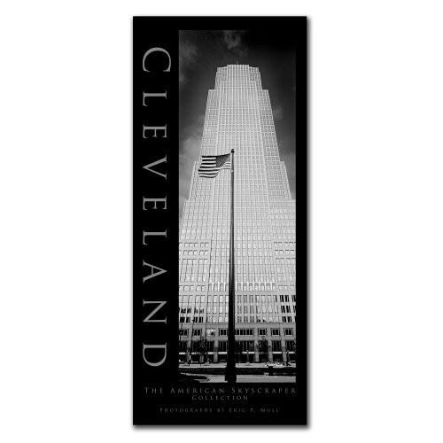Cleveland by Preston, 10x24-Inch Canvas Wall Art [10 by 24-Inch]