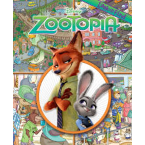 Look and Find Disney Zootopia