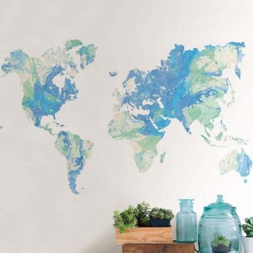 WallPops! Wall Art Kit Worlds Away Wall Decal