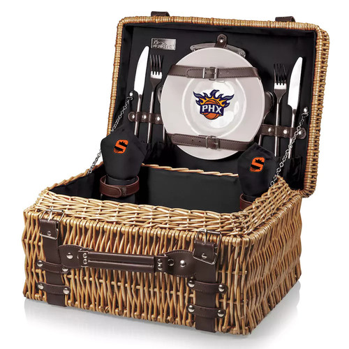 Picnic Time Phoenix Suns Champion Picnic Basket with Service for 2