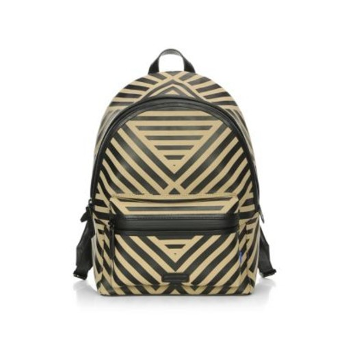 Linear Zippered Backpack