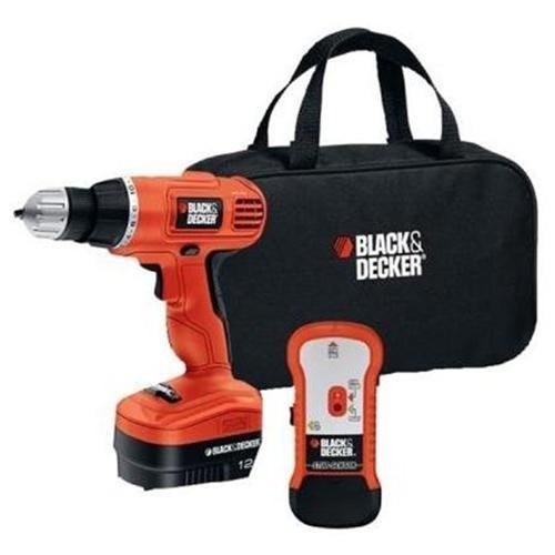 Black & Decker GCO12SFB Cordless Drill - Driver Drill - 0.37
