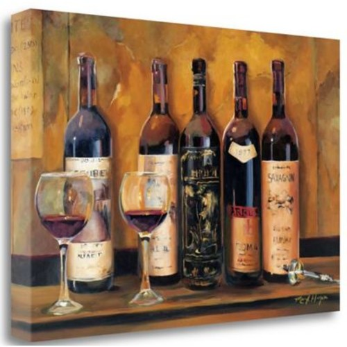 Tangletown Fine Art 'Cellar Reds' Print on Wrapped Canvas; 20'' H x 29'' W