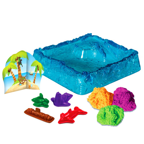 Kinetic Sand Float - Paradise Island
