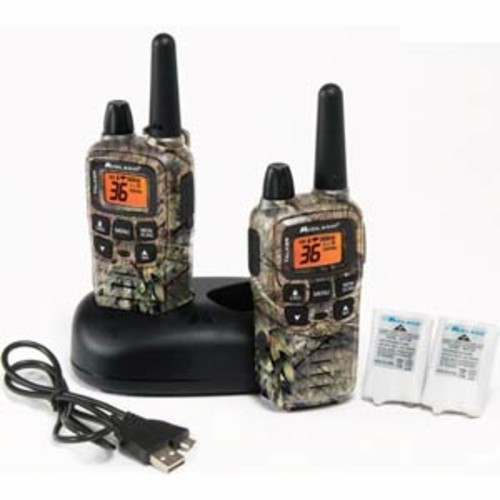 Midland T-65VP3 X-Talker GMRS Two-Way Radio w/ Clear Band Technology - Up to 32 mile range