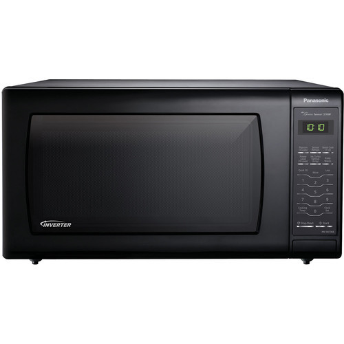 Panasonic 1.6 Cu. Ft. Countertop Microwave Oven with Inverter Technology - Black
