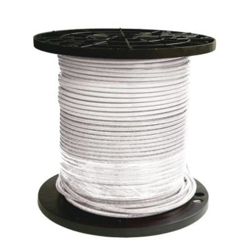 Southwire 1000 ft. 6 White Stranded CU SIMpull THHN Wire