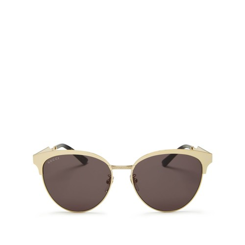 GUCCI Cat Eye Sunglasses, 57Mm