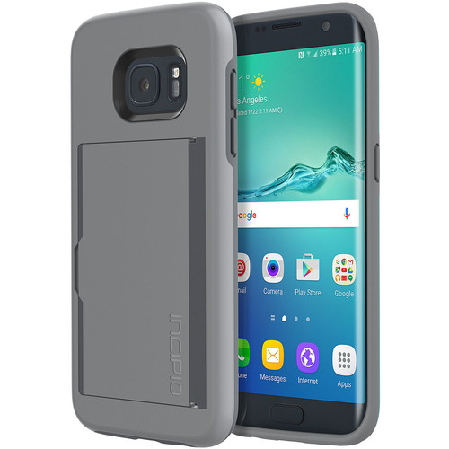 STOWAWAY Case for Galaxy S7 edge (Gray)