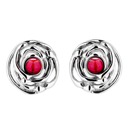 Hagit Sterling Silver Freshwater Pearl Stud Earrings
