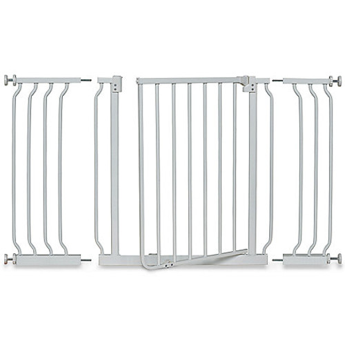 HOMESAFE by Summer Infant Multi-Use Extra Tall Walk-Thru Gate in White