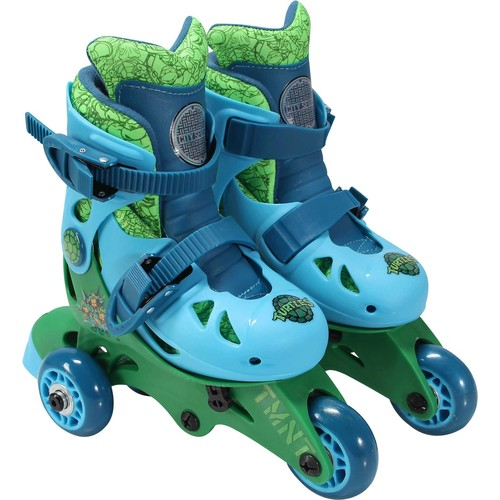 Playwheels Boys' Teenage Mutant Ninja Turtles 2-in-1 Inline Skates
