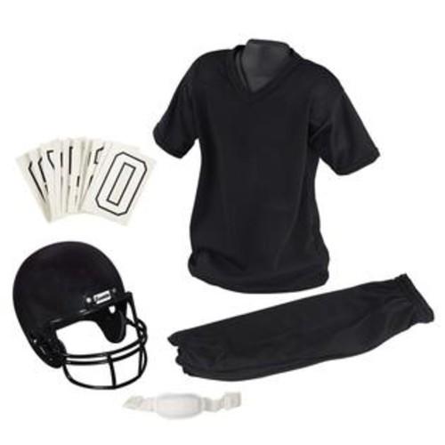 Franklin Sports NFL Medium Black Youth Uniform Set