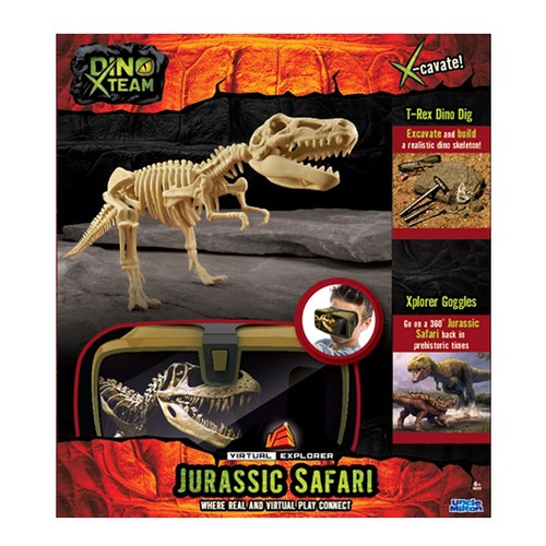 Uncle Milton Virtual Explorer Dino Team Prehistoric Safari Pack