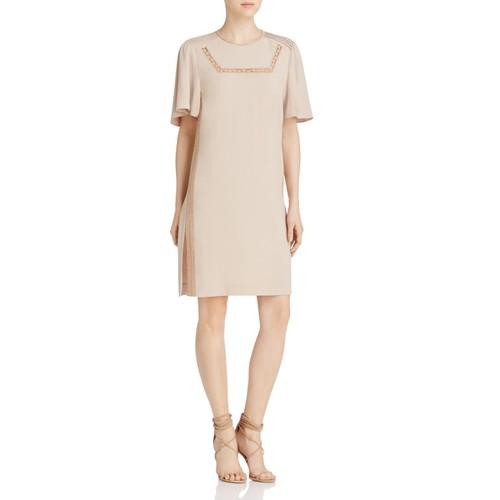 BURBERRY Keri Lace-Detail Dress
