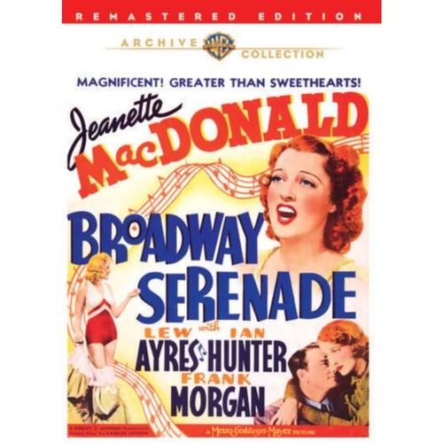 Warner Bros Broadway Serenade, DVD