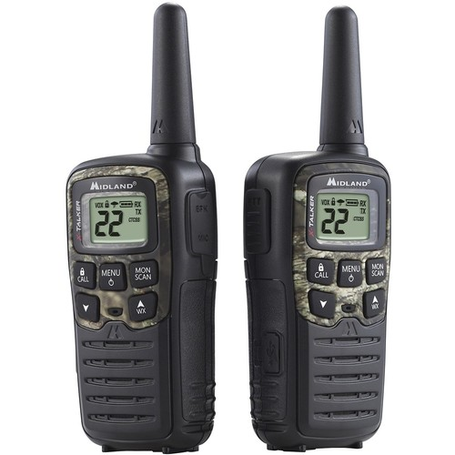 Midland T-55VP3 X-Talker GMRS Two-Way Radio w/ Clear Band Technology Up to 28 Mile Range
