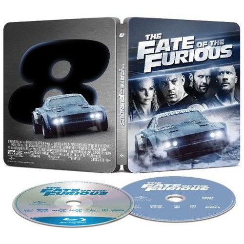 The Fate of the Furious [SteelBook] [Includes Digital Copy] [Blu-ray/DVD] [Only @ Best Buy] [2017]