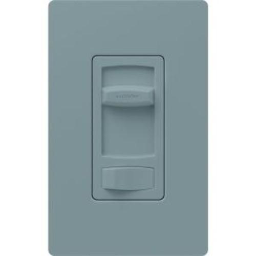 Lutron Skylark Contour 150-Watt Single-Pole/3-Way Preset CFL-LED Dimmer - Gray