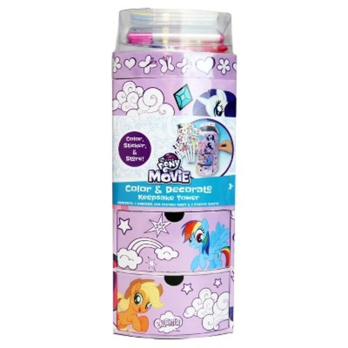 My Little Pony Color & Decorate Keepsake Tower