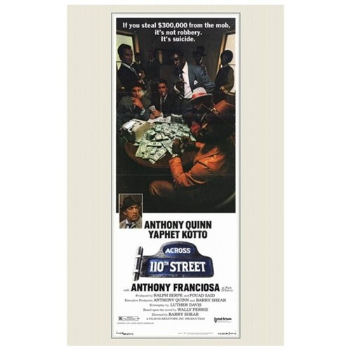 Across 110Th Street Movie Poster (11 x 17)