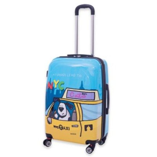 Ed Heck Riley 29-Inch Hardside Spinner Suitcase in Blue