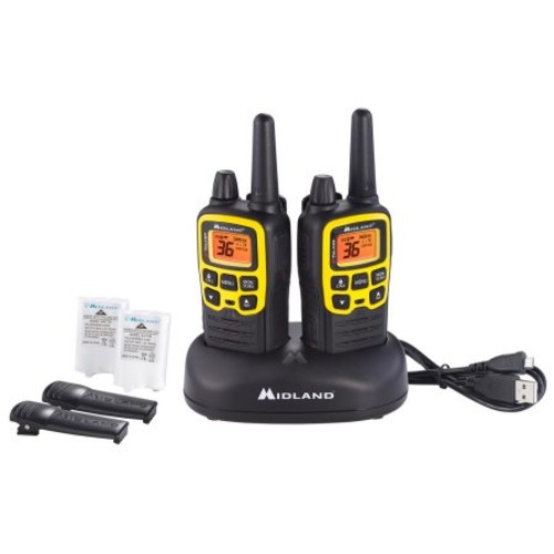 MIDLAND T-61VP3 X-TALKER GMRS TWO-WAY RADIO W/ CLEAR BAND TECHNOLOGY UP TO 32 MILE RANGE